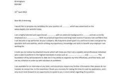example of resume cover letter for job resume example and free