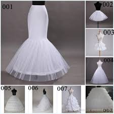 underskirts for wedding dresses a line mermaid wedding petticoats 2015 8 types hoops gowns