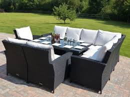 Outdoor Rattan Corner Sofa Incredible Corner Patio Dining Set Panama Rattan Garden Corner