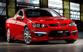 Australian Muscle Cars - australian muscle truck holden releases information on revised