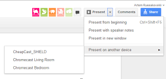 cast extension android drive can now cast presentations to chromecast desktop