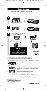 ab c hazir otomatik arama one for all urc 6410 simple tv user