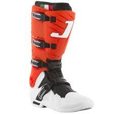 jett motocross boots bota jett hi vis branco vermelho skate shop monster