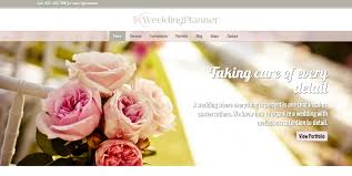 wedding planner website wedding planner theme premium template for wedding