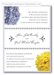 Wedding Invitation Wording From Bride And Groom Examples Of Wedding Invitation Wording The Wedding