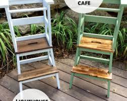 kitchen step stool etsy