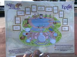 Epcot World Showcase Map Review Figment U0027s Brush With The Masters Scavenger Hunt Epcot