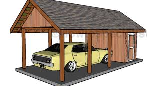 carport with storage plans carport with storage plans howtospecialist how to build step by