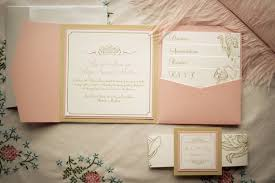 blush and gold wedding invitations pocketfold invitations pink and gold wedding invitation