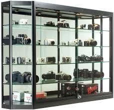 Media Cabinet Glass Doors Black Glass Storage Cabinet U2013 Dihuniversity Com