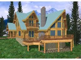 a frame house plans with loft log cabin plans with loft creek a frame log home house plan tiny