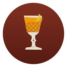 holiday cocktails clipart illustration u2014 matt rancatore