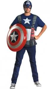 Captain Halloween Costume Men U0027s Captain America Civil War Costume Costumes