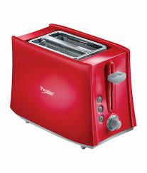 Toaster India Prestige Pptpkr Pop Up Toaster Red Price In India Buy Prestige