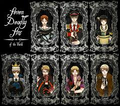 seven deadly sins 7 deadly sins of the world by bluestorm studio deviantart com on