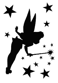 free printable tinkerbell tinkerbell stencil google search silhouettes u0026 stencils