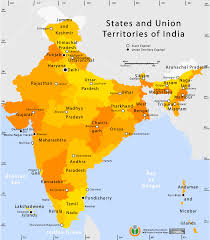 Map India State And Union Territories Map U2022 Mapsof Net