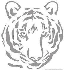 halloween pumpkin carving templates tiger face free halloween pumpkin carving patterns dot com women