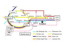 Shinagawa Station Map Funabori Jpg