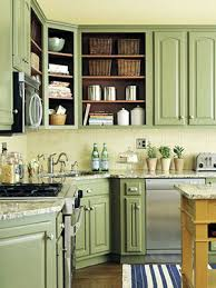 kitchen decorative light green painted kitchen cabinets soft