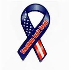 patriotic ribbon wholesale freedom isnt free patriotic 8 ribbon magnet item 444
