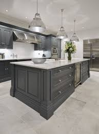 grey kitchen floor ideas best 25 grey kitchens ideas on grey cabinets modern
