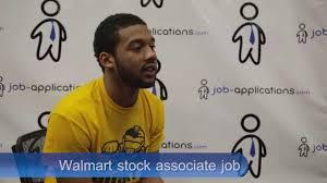 Stock Associate Job Description For Resume by Walmart Interview Stock Associate Youtube
