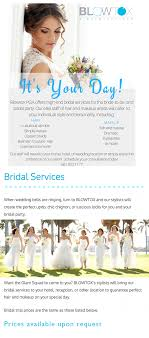 bridal hair prices blowtox hair and makeup