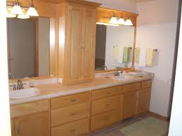 Bathroom Cabinets Wood Bathroom Design Chic Modern Sink Bathroom Vanity Brown