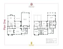 Floorplan Com Plan One Floor Plan The Vista At Twenty Mile Nocatee