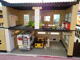 Garage Living Quarters A Luxury Home Revisit A Lego Creation By Norman Yeung