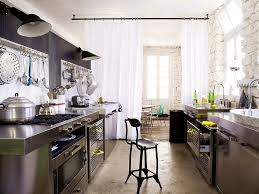 Industrial Kitchen Backsplash by Kitchen Style Industrial Kitchen Design Distressed Cabinets Matte