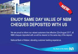 big banks are already aboard welcome to national bank of malawi the bank of the nation