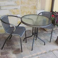 Wrought Iron Patio Furniture Lowes by Furniture Wonderful Lowes Bistro Set For Patio Furniture Idea