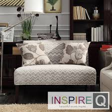 furniture gorgeous armless loveseat for home furniture ideas