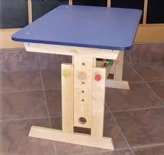 adjustable height kids table student desks improving functionality of modern kids room design