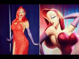 Rabbit Halloween Costume Heidi Klum U0027s Jessica Rabbit Halloween Costume 2015