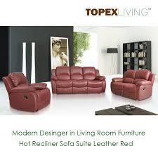 recliner sofa loveseat recliners chair leather red sofa set bonded