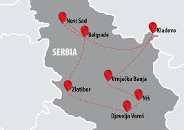 Serbia World Map by Best Of Serbia 8 Days Balkan Travel Centar