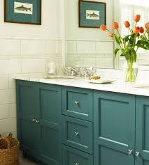 Blue Bathroom Vanity by Five Ways To Update A Bathroom Centsational Style