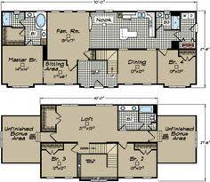 two story mobile home floor plans floorplan the landon ev843 1032 0132116 synergy homes