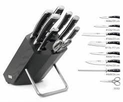 Wusthof Kitchen Knives Wusthof Classic Ikon Knife Block 9880 Yourkitchen Eu