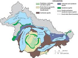 Map Of Lake Superior Usgs Ground Water In The Great Lakes Basin The Case Of