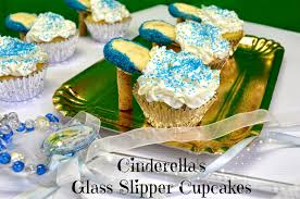 Cinderella Cupcakes Cinderella U0027s Glass Slipper Cupcakes U0026 New Movie Trailer