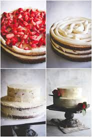 cake diy best wedding cake recipe white almond buttercream with strawber