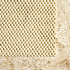 amazon com con tact brand rectangular outdoor patio rug pad 6 u0027 x