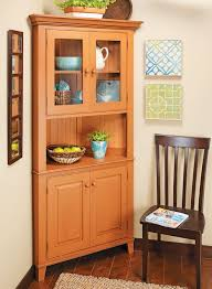 how to build an corner cabinet classic corner cabinet woodworking project woodsmith plans