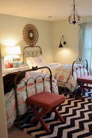 lovely paint colors for small bedrooms with zigzag pattern nytexas