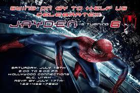 spiderman sleepover invitation u2013 orderecigsjuice info