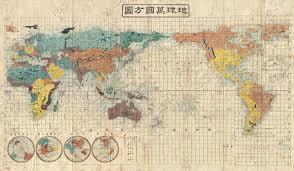 Code Geass World Map by Japanese World Map 1853 5400 3143 Mapporn